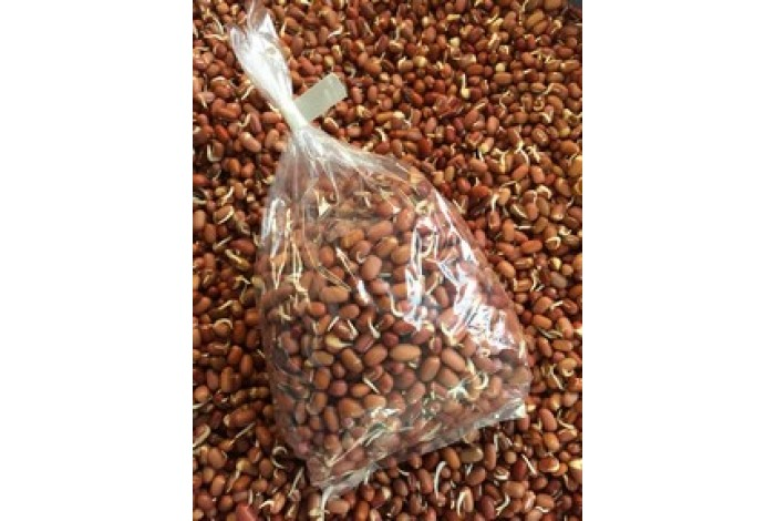 Sprouted Adzuki (organic), bagged, 200g size