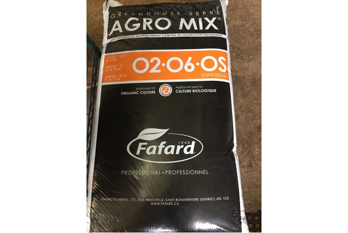 Fafard O2 Seeding organic mix