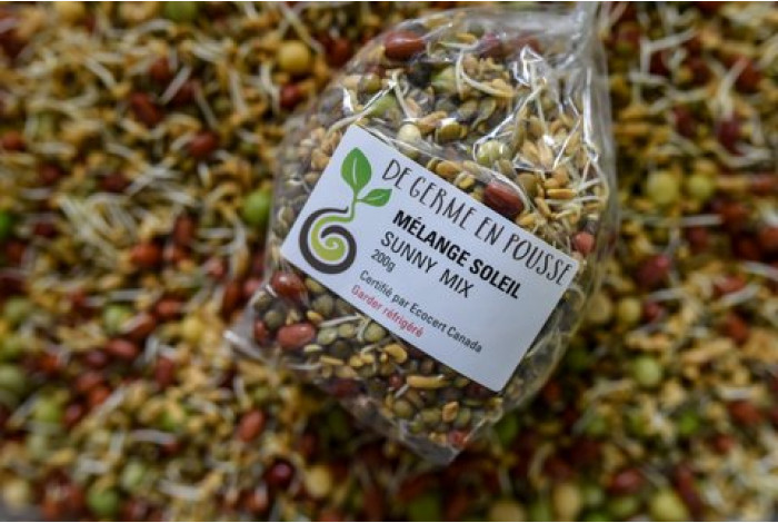 Sprouted beans and grains Sunny mix 200g size
